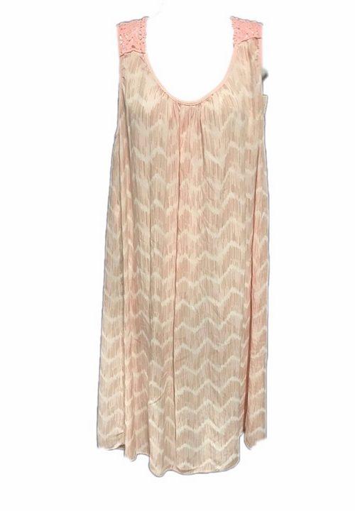 jurk patroon roze