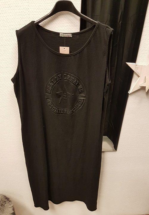 jurk zwart ster
