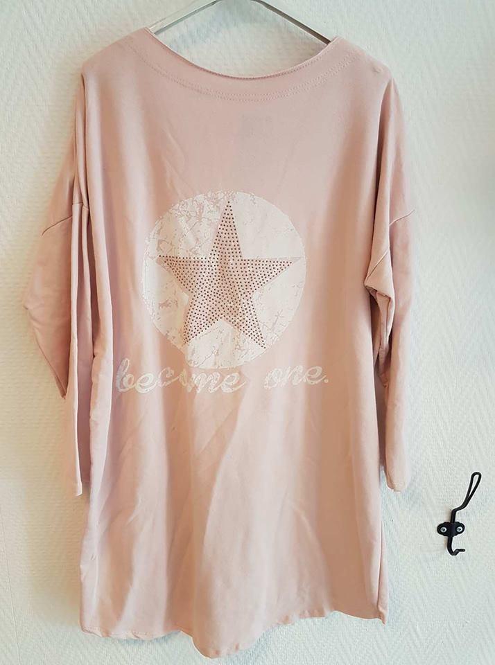 Roze Glitter Trui.Become One Trui Glitter Roze Patty S Fashion Shoes